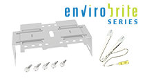 RSB T8 TLED STRIP BRACKET KIT